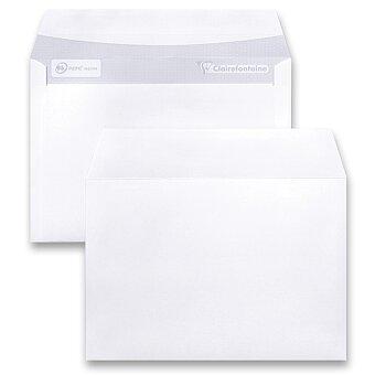 Obrázek produktu Bílá obálka Clairefontaine - C6, samolepicí, bez okénka