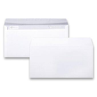 Obrázek produktu Bílá obálka Clairefontaine - DL, samolepicí, bez okénka