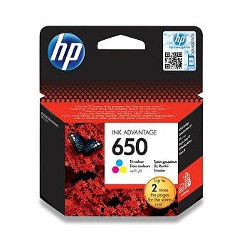 Obrázek produktu Cartridge HP CZ102AE  č. 650 pro inkoustové tiskárny - color (barevná)