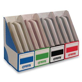 Obrázek produktu Otevřený archivační box Emba dělený - 300 x 220 x 130 mm, výběr barev