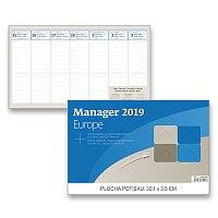 Stolní kalendář Manager Europe