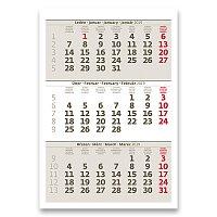 Stolní kalendář Mini tříměsíční kalendář