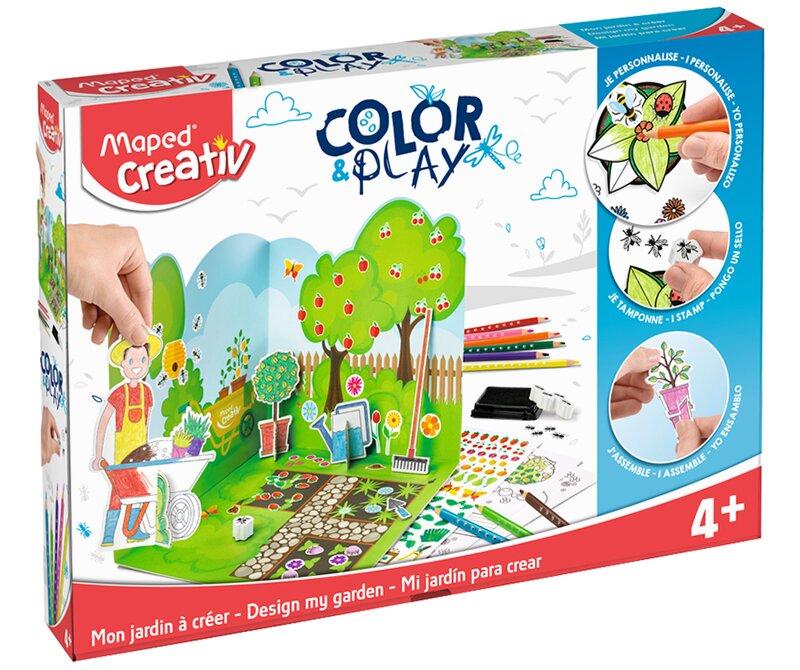 Kreativní sada pro vytvoření vlastní zahrady