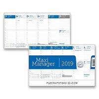 Stolní kalendář Maxi Manager