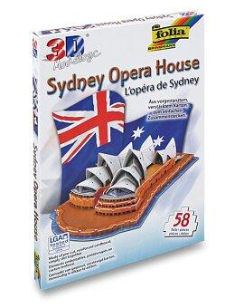 Obrázek produktu 3D stavebnice Folia - Opera House - 58 dílků