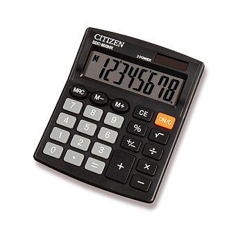 Obrázek produktu Stolní kalkulátor Citizen SDC-805NR