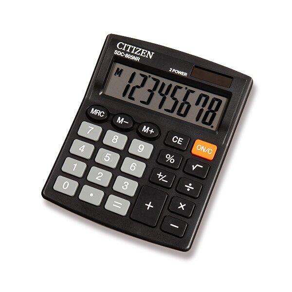 Stolní kalkulátor Citizen SDC-805NR