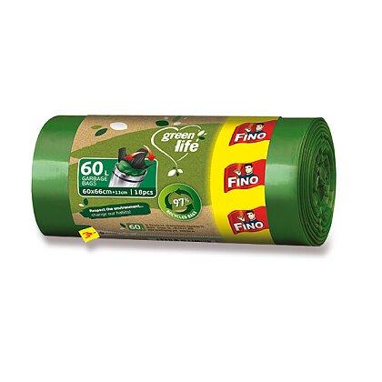 Obrázek produktu Fino Green life - pytle na odpadky - 60 l, 600 x 660 mm, 18 ks