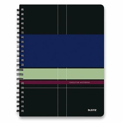 Obrázok produktu Leitz Executive -  krúžkový blok - A4, 80 listov, linajkový