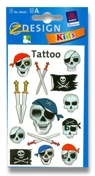 Tetování Avery Piráti Avery