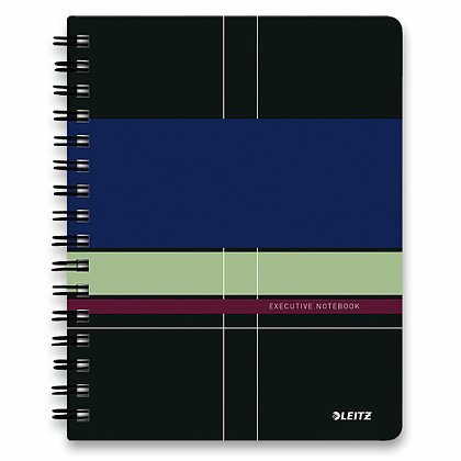 Obrázok produktu Leitz Executive -  krúžkový blok - A5, 80 listov, linajkový
