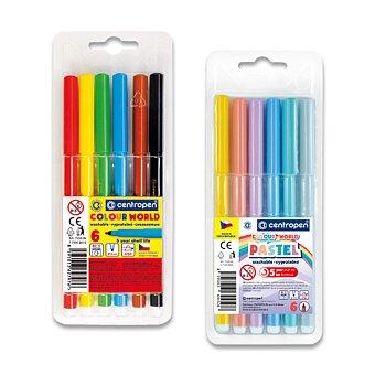 Obrázek produktu Sada popisovačů Centropen Colour World 7550 - sada 6 barev