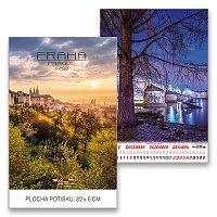 Nástěnný obrázkový kalendář Praha