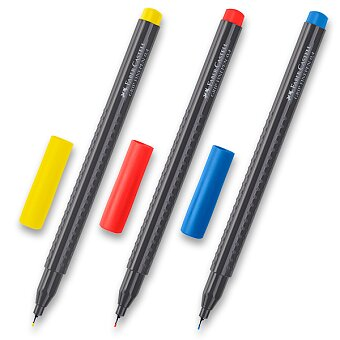 Obrázek produktu Fineliner Faber-Castell Grip 1516 - barevné - 0.4 mm, výběr barev