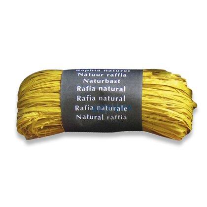 Obrázek produktu Clairefontaine - dárkový provázek - žlutý, 50 g