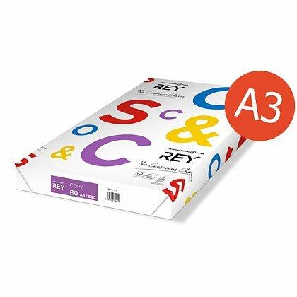 Obrázok produktu Rey Copy Paper - xerografický papier - A3, 80 g, 500 listov
