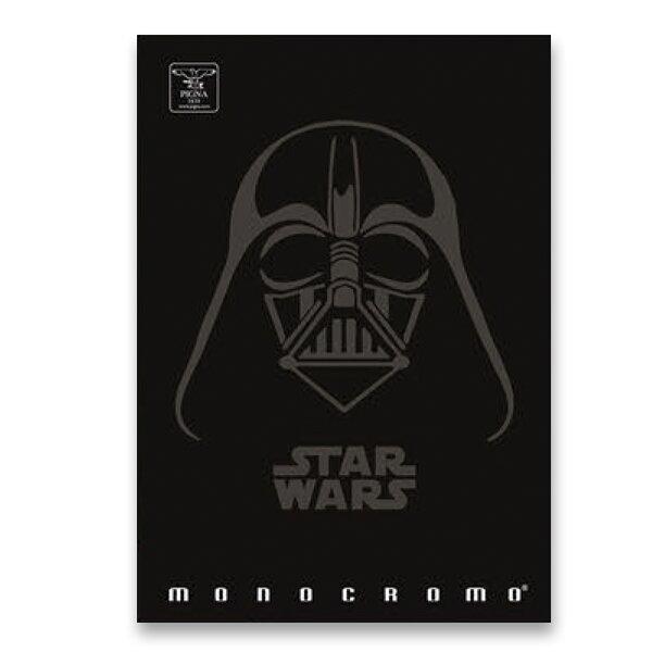 Školní sešit Pigna Monocromo Star Wars A4, linkovaný, 40 listů