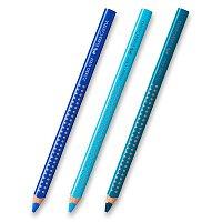 Pastelka Faber-Castell Jumbo Grip - modré odstíny
