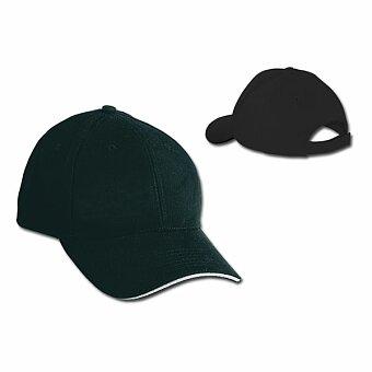 Obrázek produktu HEAVY - bavlněná baseballová čepice, suchý zip, 6 panelů, výběr barev