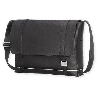Obrázek produktu Taška přes rameno Moleskine Lineage Leather - černá