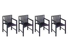Set 4 ks židlí Spectrum Kokke