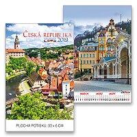 Nástěnný obrázkový kalendář Česká republika