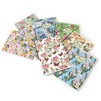 Obrázek produktu Školní sešit Pigna Nature Flowers - A5, čistý, 40 listů, mix motivů