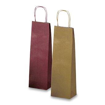 Obrázek produktu Dárková taška Allegra - 140 x 85 x 390 mm, na lahev