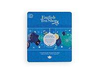 Vánoční plechová kazeta s čaji, výběr barev