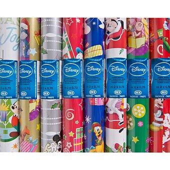 Obrázek produktu Balicí papír Walt Disney Natale - 2 x 0,7 m, mix motivů