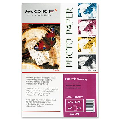 Product image More Harmony Glossy - quality glossy photo paper