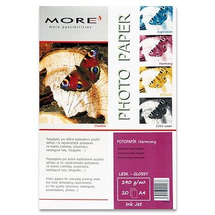 Obrázek produktu More Harmony Glossy - lesklý fotopapír - A4, 240 g, 20 listů