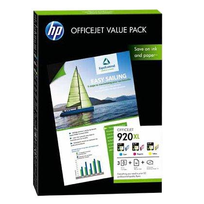 Obrázok produktu Balenie HP 920XL OFFICEJET VALUE, 50 listov/A4/210 x 297 mm