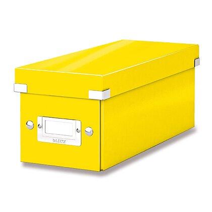 Obrázek produktu Leitz Click & Store - box na CD  - žlutý