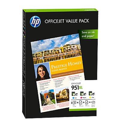 Obrázok produktu Balenie HP 951XL OFFICEJET VALUE PACK CR712AE, 75 listov/A4/210 x 297 mm