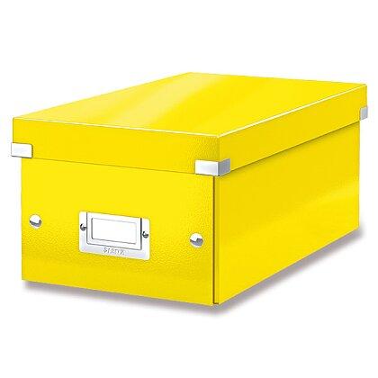 Obrázek produktu Leitz Click & Store - box na DVD -  žlutý