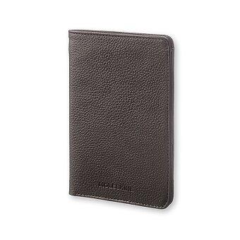 Obrázek produktu Pouzdro na doklady Moleskine Lineage Leather - černé