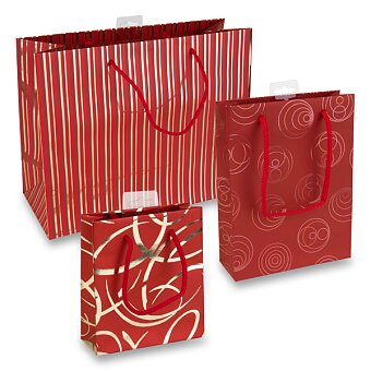 Obrázek produktu Dárková taška Premium Red - různé rozměry a motivy