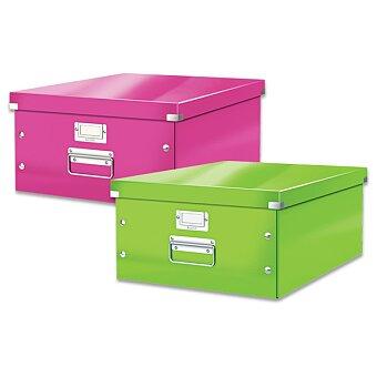 Obrázek produktu Archivační krabice Leitz Click & Store - do A3, 369 x 200 x 484 mm, výběr barev