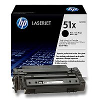 Toner HP Q7551X č. 51X pro laserové tiskárny