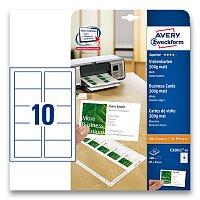 Vizitkový karton Avery Zweckform