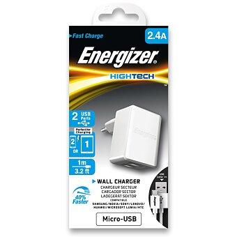 Obrázek produktu Nabíječka Energizer HighTech - 2 x USB, micro-USB kabel