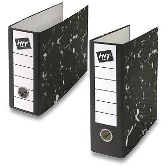 Obrázek produktu Pákový pořadač HIT Office - A5, 80 mm, na výšku nebo na šířku