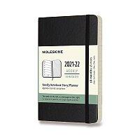 18měsíční diář Moleskine 2021-22 - měkké desky