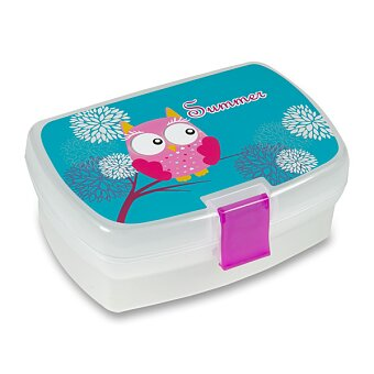 Obrázek produktu Svačinový box Sova