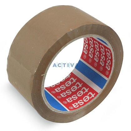 Obrázek produktu Tesa Standard - balicí páska - 48 mm × 66 m, hnědá