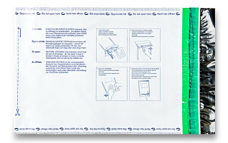 Obrázek produktu Bezpečnostní obálka - B5, 185 x 245 + 50 mm