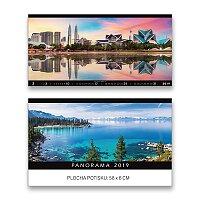 Nástěnný obrázkový kalendář Panorama