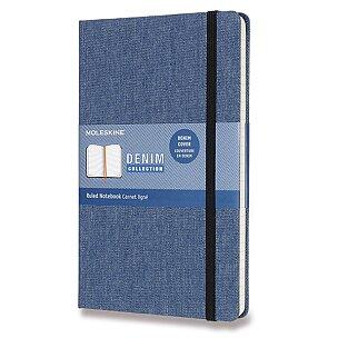 Zápisník Moleskine Denim - tvrdé desky