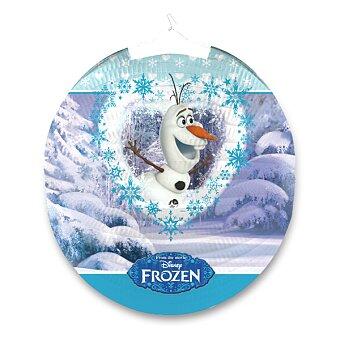 Obrázek produktu Papírový lampion Frozen - průměr 25 cm, mix motivů